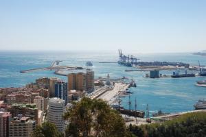 vistas-puerto-desde-gibralfaro